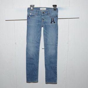 Abercrombie skinny girls jeans size 10